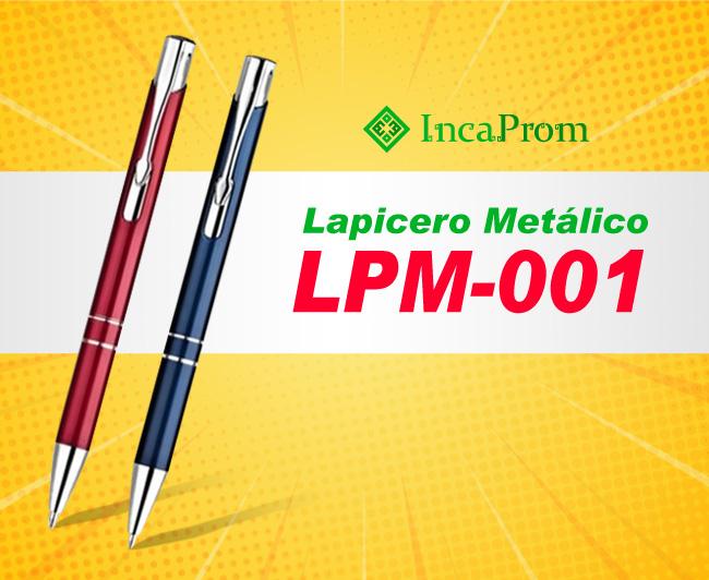 Lapicero Metalico Publicitario LPM-001