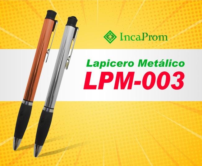 Lapicero Metalico Publicitario LPM-003