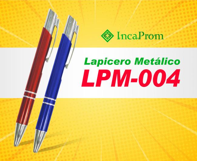 Lapicero Metalico Publicitario LPM-004