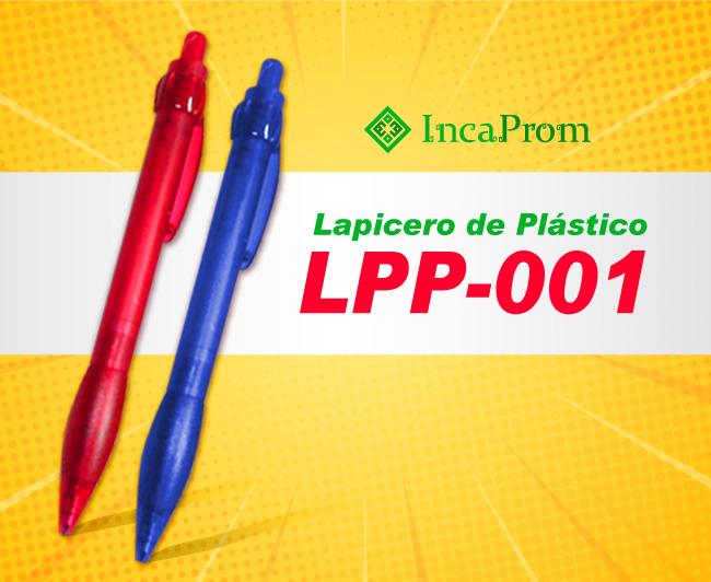 Lapicero de Plastico LPP-001