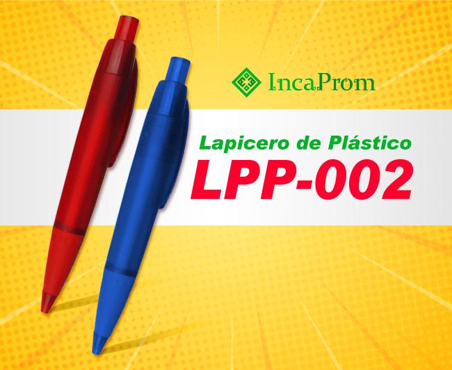 Lapicero de Plastico LPP-002