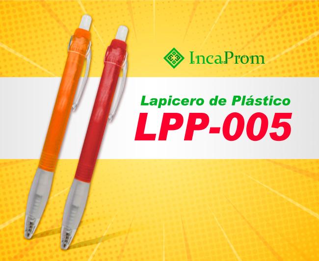 Lapicero de Plastico LPP-005
