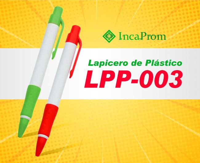 Lapicero de Plastico LPP-003