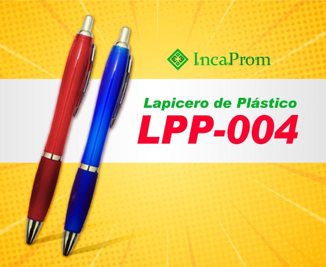 Lapicero de Plastico LPP-004